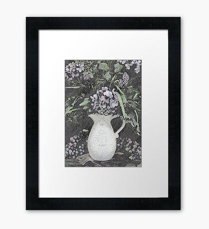 Purple Luxury Framed Print