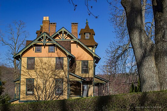 Old House In Main Street Historic District | Cold Spring Harbor, New York by © Sophie W. Smith