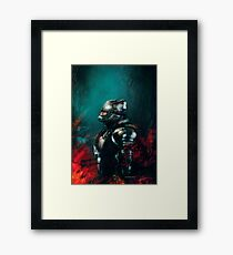 The Fire Before The Storm. Framed Print