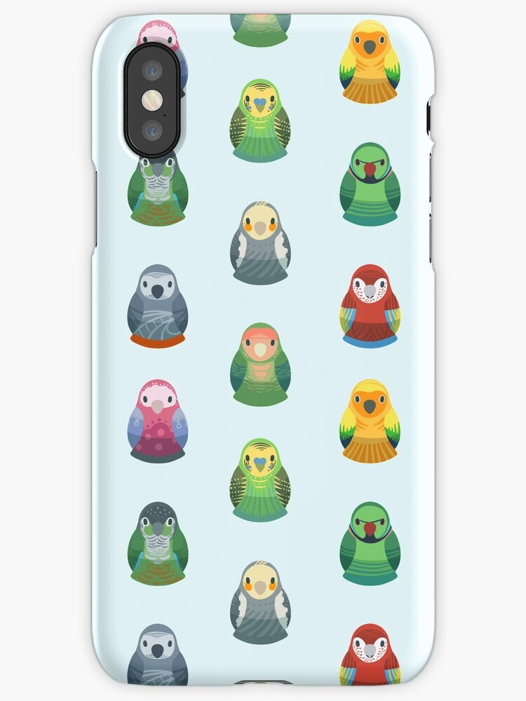 Parrot Nesting Doll Pattern by KeesKiwi