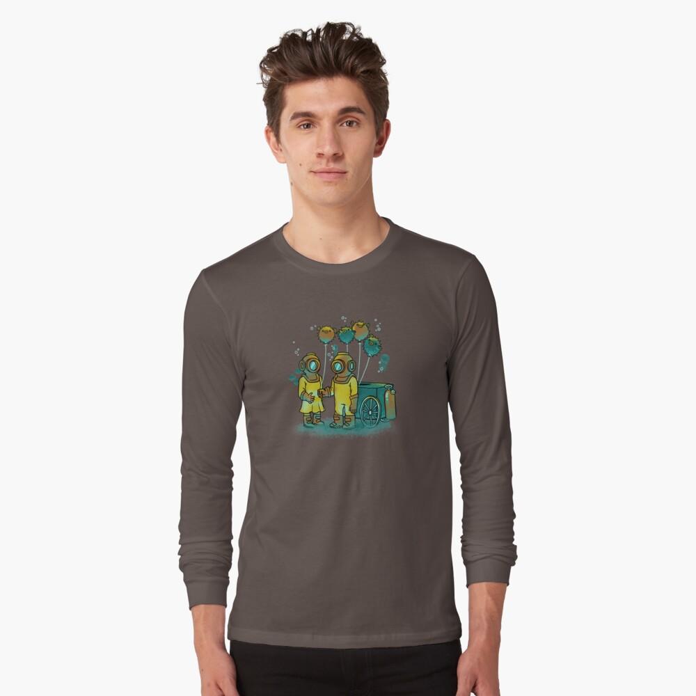 El vendedor de Balloonfish Camiseta de manga larga