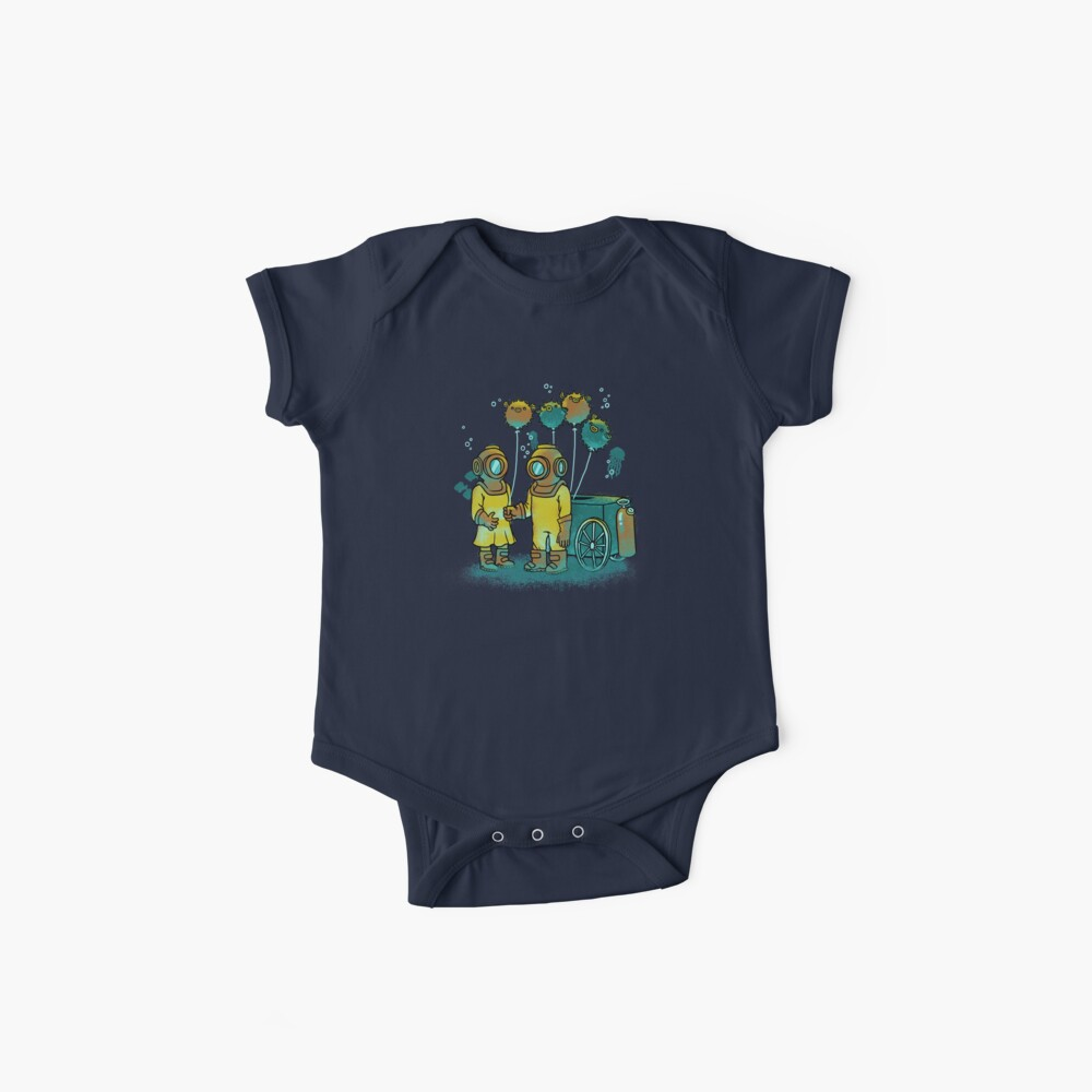 The Balloonfish Vender  Baby One-Piece