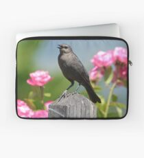Bird in a Garden Laptop Sleeve