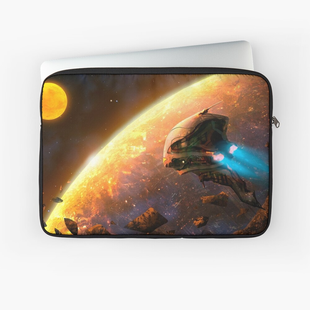 Red Planet Laptop Sleeve