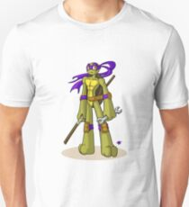 Donatello Does Machines Unisex T-Shirt