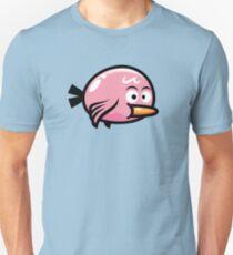 Cute Kawaii Pink Bird Unisex T-Shirt