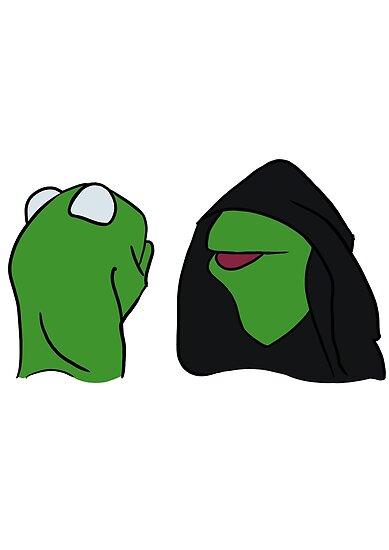 Evil Kermit by pixelphase