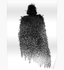 Star Wars Darth Vader Splat  Poster