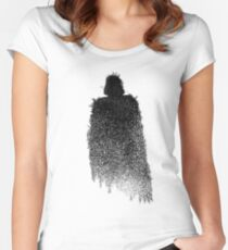 Star Wars Darth Vader Splat  Women's Fitted Scoop T-Shirt