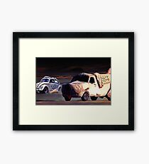 Herbie and some Dummies Framed Print