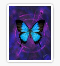 Space Butterfly 2 Sticker