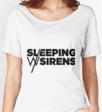 Sleeping with sirens basic Logo Women's Relaxed Fit T-Shirt