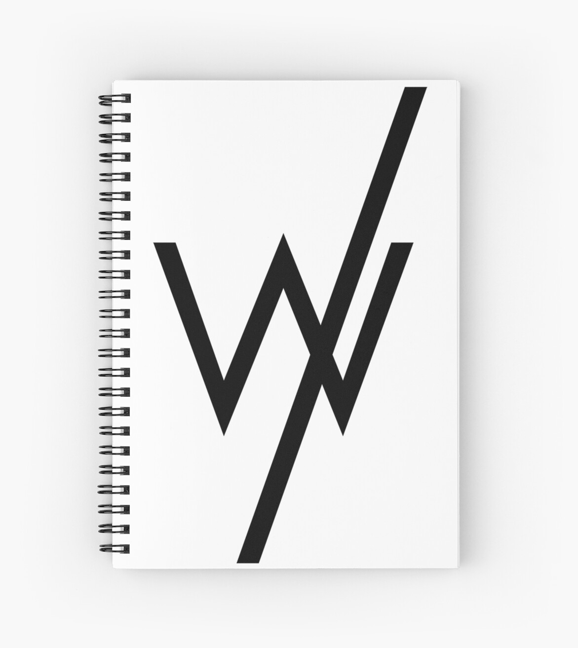 Sleeping With Sirens Famous Logo Spiral Notebooks By Annyyaa