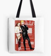 Absolutely Fabulous, Sweetie! Darling! Patsy and Edina. Ab Fab typography quotes. abfab. BBC Tote Bag