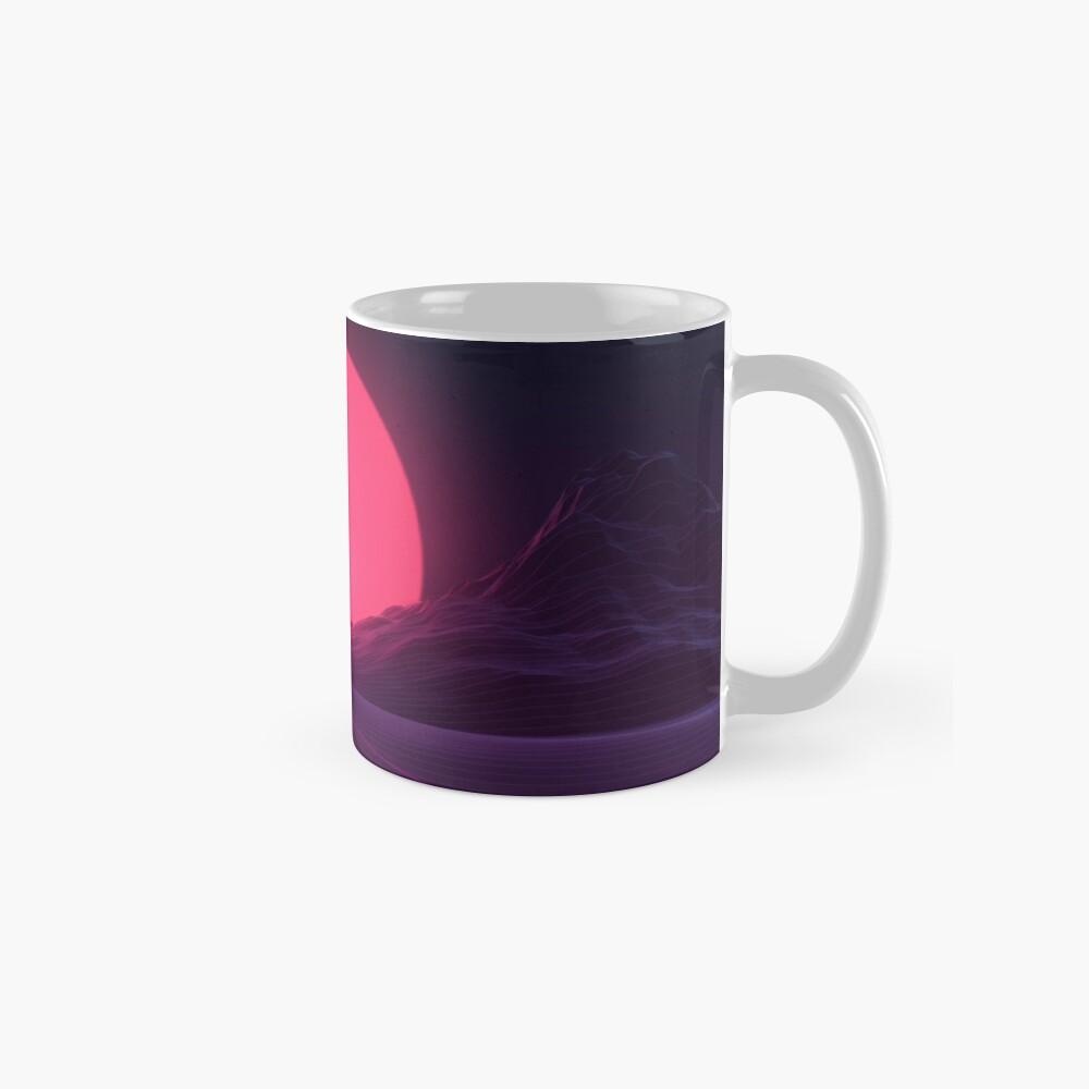 Neon Sunset Mug