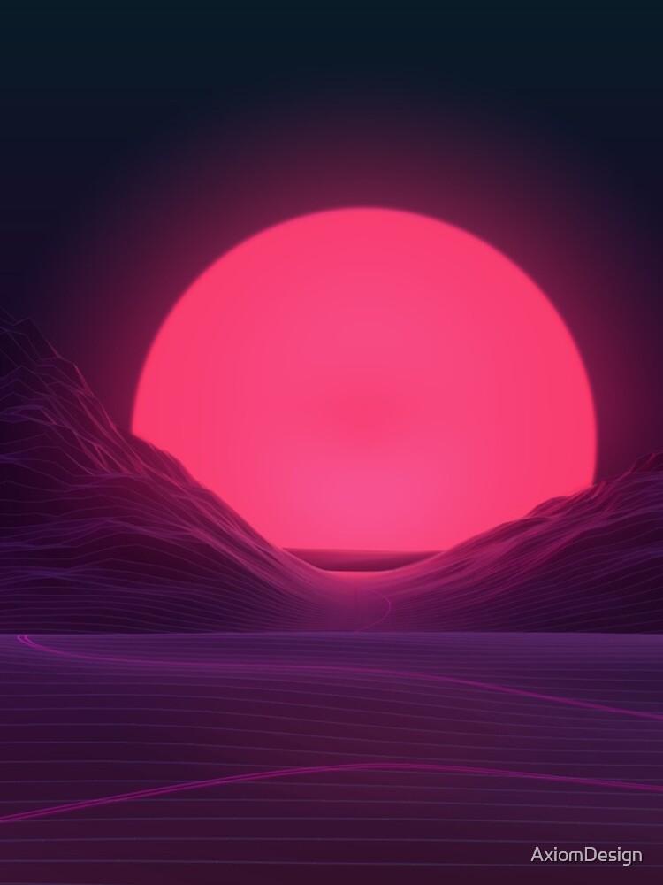 Neon Sunset by AxiomDesign