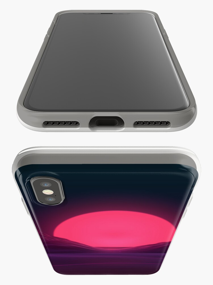 Alternate view of Neon Sunset iPhone Cases & Covers