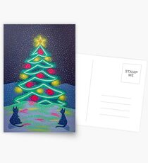 Bright December Night Postcards