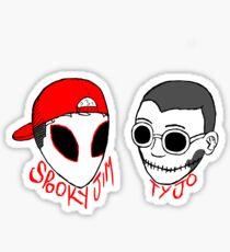 Spooky & Tyjo Sticker