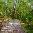 Lane Cove Twin Gum Trees by Dai Wynn