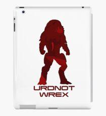 U.Wrex iPad Case/Skin