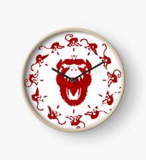12 Monkeys logo - clock Clock