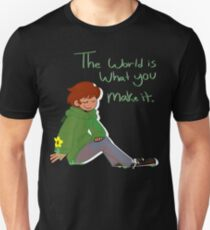 Eddsworld Inspired 'The World Is What You Make It' Unisex T-Shirt
