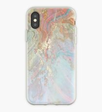 Pastel Marble #redbubble iPhone Case