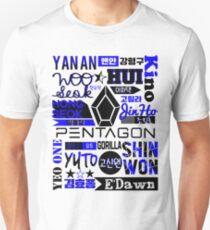 Pentagon Collage Unisex T-Shirt
