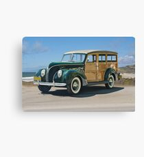 1938 Ford  81A 'Woody' Station Wagon Canvas Print