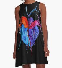 My Heart A-Line Dress