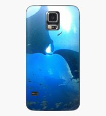 A pair of rays (manta rays) Case/Skin for Samsung Galaxy