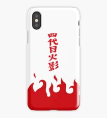 4th Hokage Cloak iPhone Case/Skin