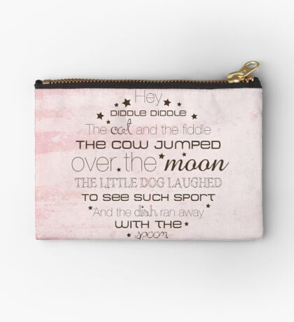 Hey Diddle Diddle – 2:3 – Pink   Studio Pouch