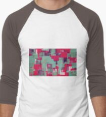 red green and blue square pattern  T-Shirt