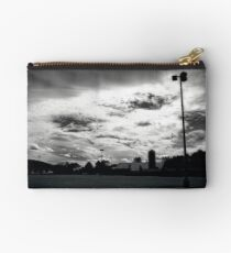 Clouds Over a Parking Lot Studio Pouch