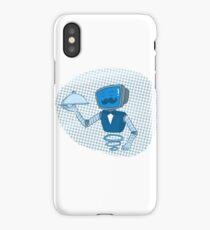 Robot butler iPhone Case/Skin