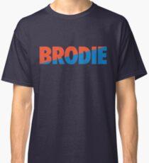 Brodie (Light Blue/Orange) Classic T-Shirt