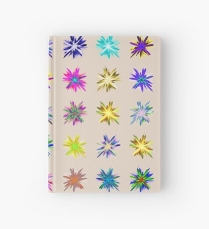 Flower blast structured chaos chaos #fractal art Hardcover Journal