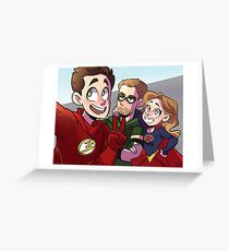 Super Selfie  Greeting Card