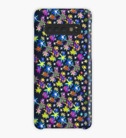 Flower blast structured chaos in stratosphere #fractal art Case/Skin for Samsung Galaxy