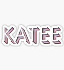 Katee Sticker