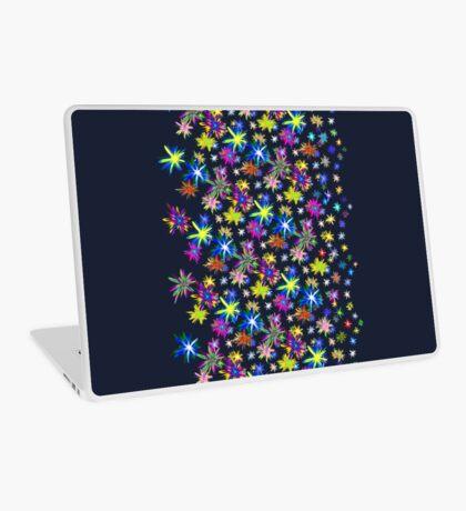 Flower blast structured chaos in stratosphere #fractal art Laptop Skin