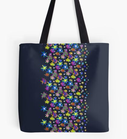 Flower blast structured chaos in stratosphere #fractal art Tote Bag