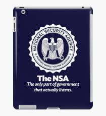 The NSA iPad Case/Skin