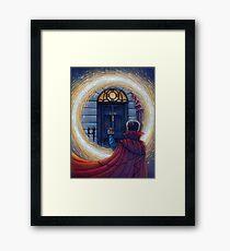 Sherlock Strange Framed Print