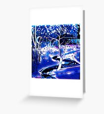 Snowy, Snowy Night Greeting Card