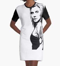 """Battlestar Galactica """"Kara Thrace"""" Graphic T-Shirt Dress"""