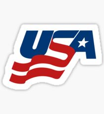 USA Hockey Olympics Team Sticker