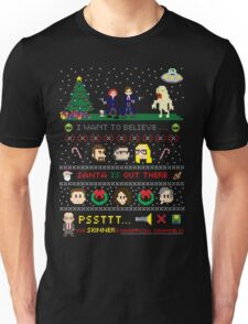 The X-Files Christmas - Santa is Out There Unisex T-Shirt